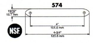 (D7-7) Kason 574 Pull handle