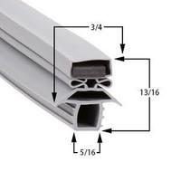 Traulsen 341-37205 Magnetic gasket