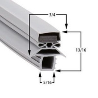 Traulsen 341-37504 magnetic gasket