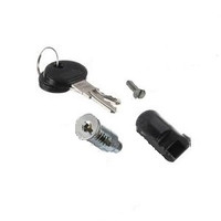 Kason 1229-KC Lock cylinder w/two keys