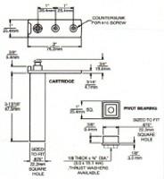 (D9-9) 1556-KR Right Hand Hinge Kit