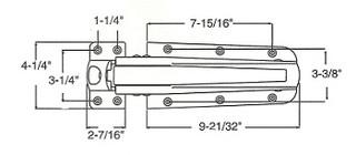 (A4-1) Kason 55 latch complete flush