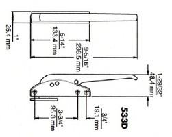 (D4-7) Kason 533D Latch complete