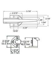 (D5-3) Kason 930A Latch flush trigger action