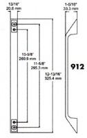 (D7-3) Kason 912 Pull handle chrome
