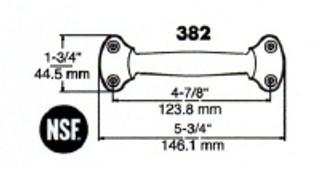 (D7-6) Kason 382 Pull handle Classic