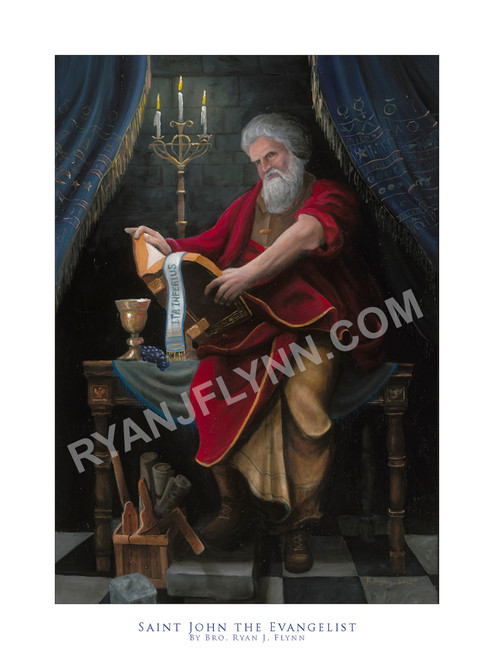 Saint John the Evangelist -Fine Art Print