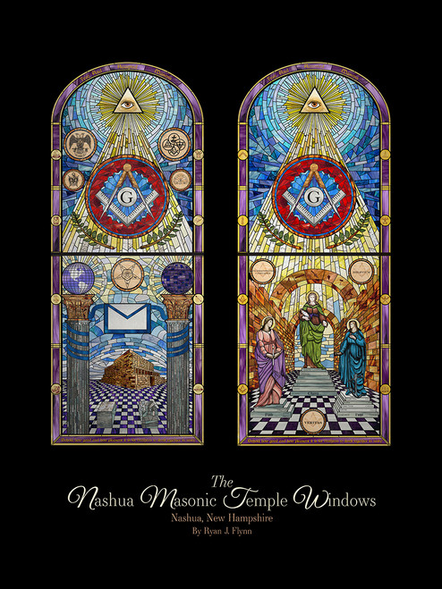 Nashua Masonic Windows Print