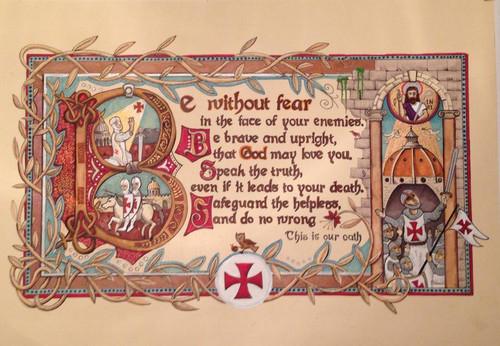 The Templar Oath