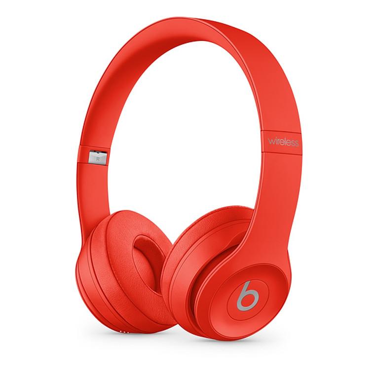 Beats Solo3 Wireless Headphones - Red