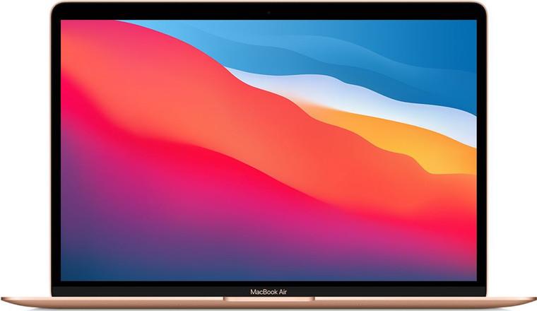 13-inch MacBook Air TI M1 Chip with 8-Core CPU and 8-Core GPU 8GB/512GB SSD Gold (English) - November 2020