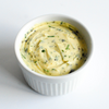 Roasted Garlic, Basil and Parsley: these natural companions are carefully combined with high-quality butter to create this versatile compound.
