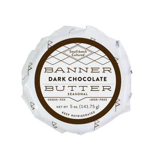 Seasonal - Dark Chocolate Butter  Pack of 6