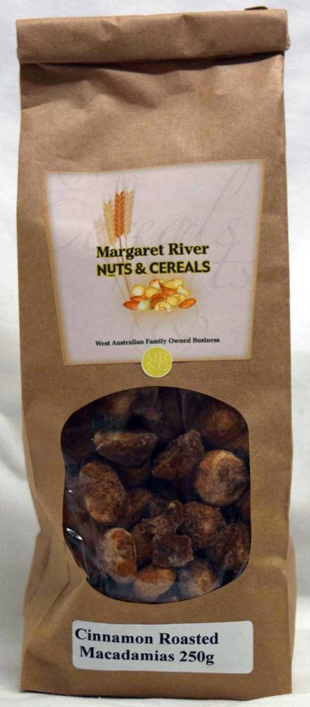 Cinnamon Roasted Macadamias - GLUTEN FREE