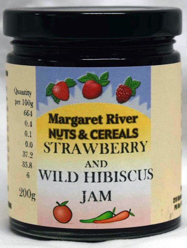 Strawberry & Wild Hibiscus Jam