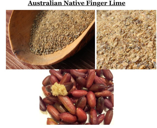 What are native finger limes?