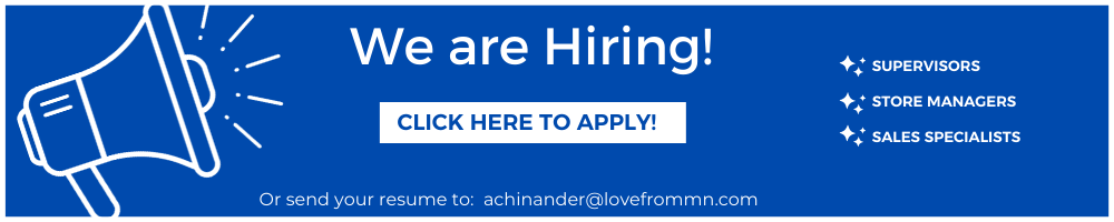 We are Hiring! link