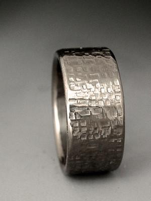 rosetta stone titanium ring