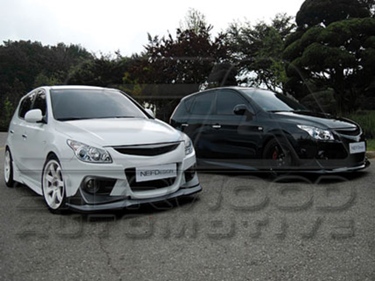 i30 nefd body kit korean auto imports i30 nefd body kit