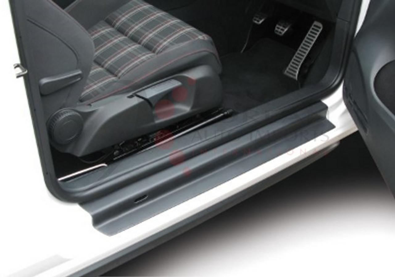 For Peugeot 2008 Whtie Sticker Car Door Sill Door Entry Guard Protectors 4pc