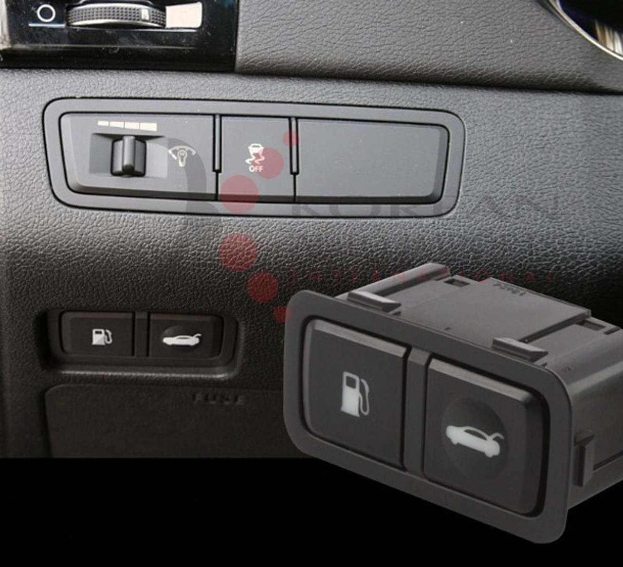 2011 Fuel Door Open Module