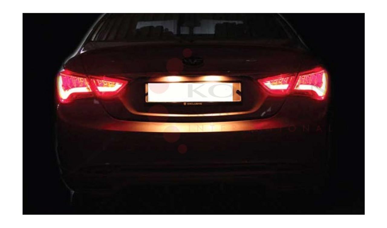 2011-2013 SONATA 4 PCS SMOKE LED TAIL LIGHTS NEW