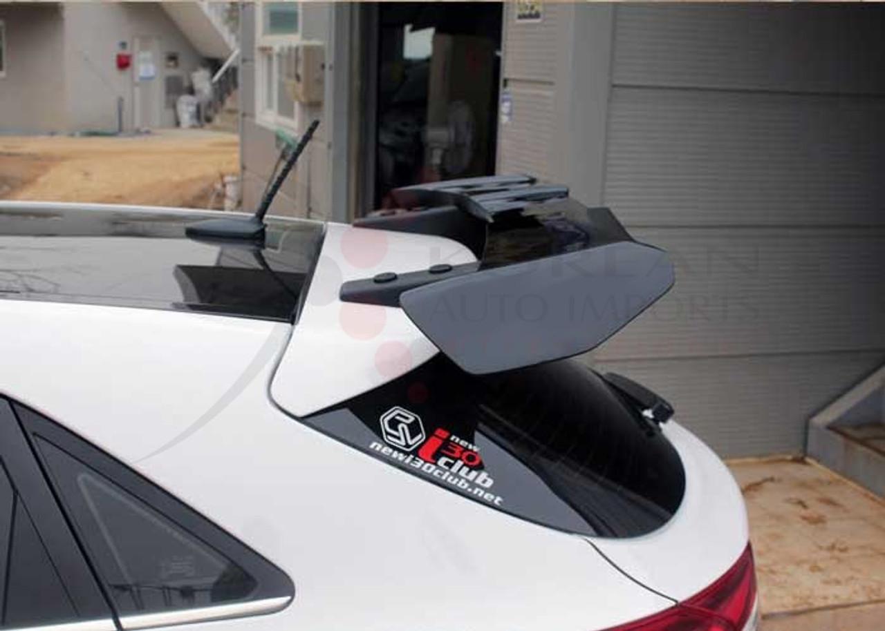 New i30 UNPAINTED MyRide Rear Wing Spoiler Ver.2 for Hyundai Elantra GT