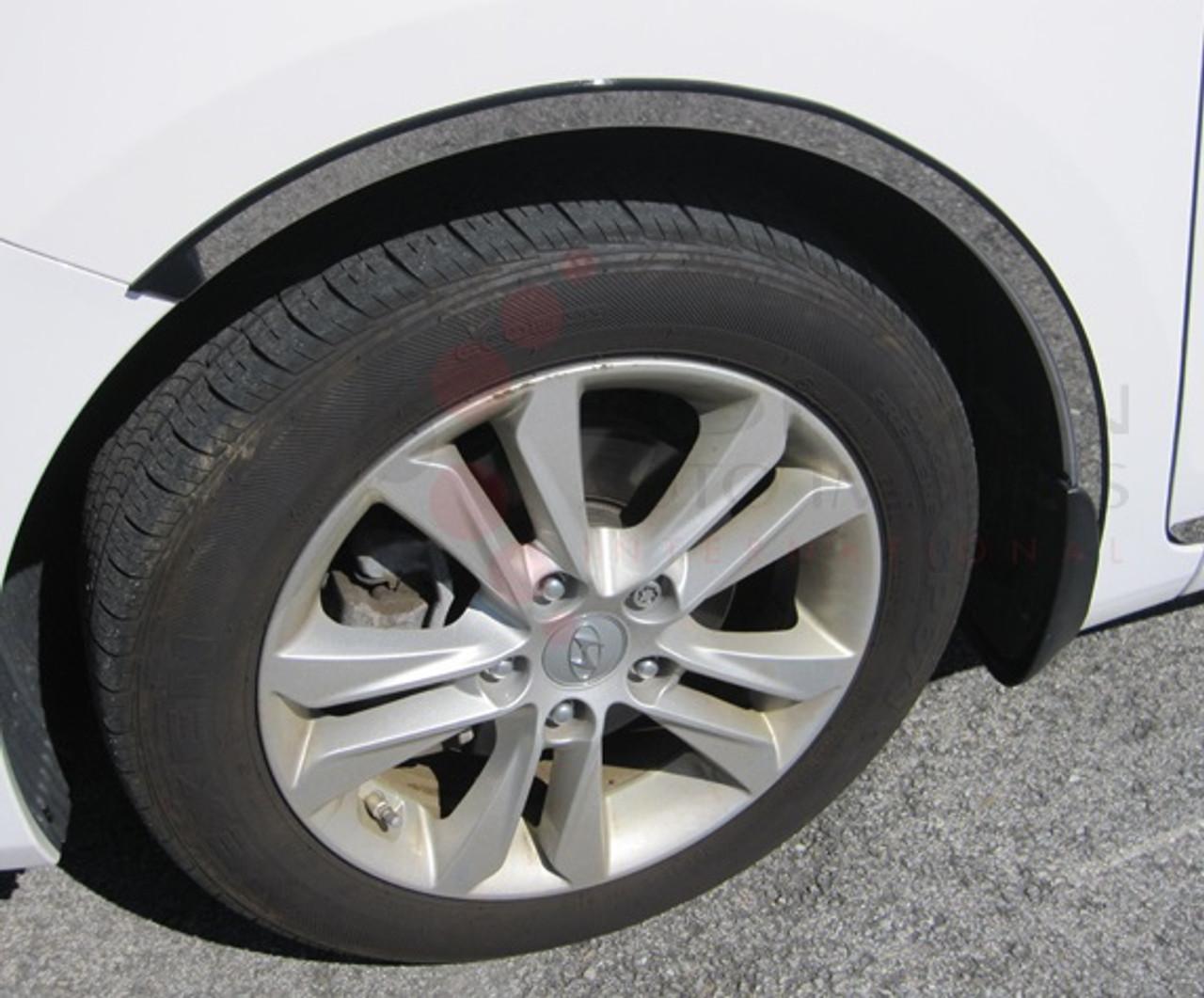 2012 I30 Elantra Gt Stainless Steel Chrome Wheel Well Trim 7 8 Width 4pc Saa Korean Auto Imports