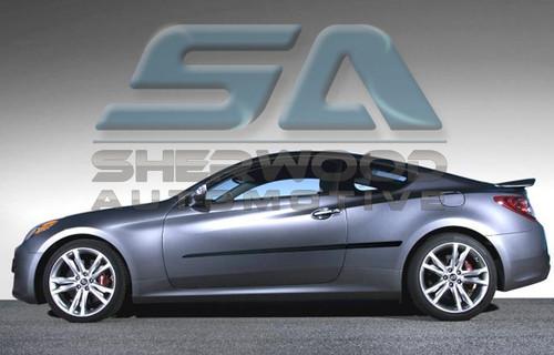 2013 Genesis Coupe Chrome Door Handle Covers Korean