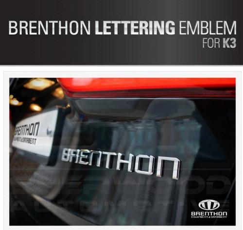 Brenthon All New Lettering Emblem For 2014 2015 2016 Kia All New Cerato K3 Koup