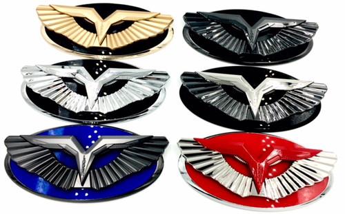 Eagle Front  Trunk EMBLEM SET Badge for KIA RIO Sedan 5Door 2006 2013