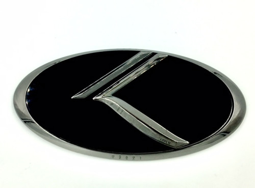 For2011 2012 2013 2014 2015 KIA RIO KDM HOOD+REAR 3D K Logo Badge Emblem 7pc