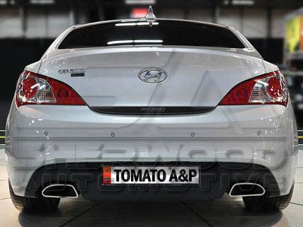 380GT Emblem Badge for 2009 2010 2011 2012 2013 2014 2015 Hyundai Genesis Coupe