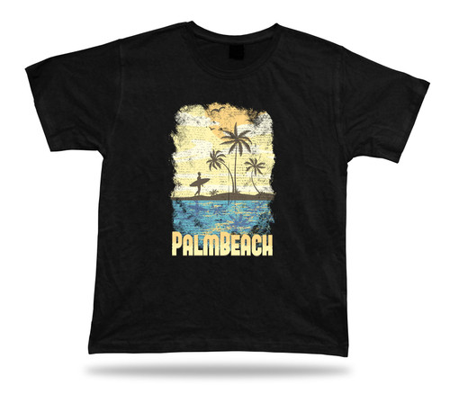 Palmbeach summer holiday funny awesome Tshirt  lucky birhday idea vintage gift
