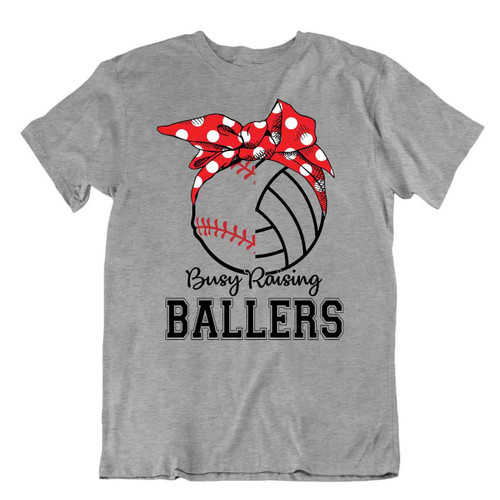 Softball Sport T-Shirt Tee Gift Cool Present Cute Funny Play Joke Ballers Mom