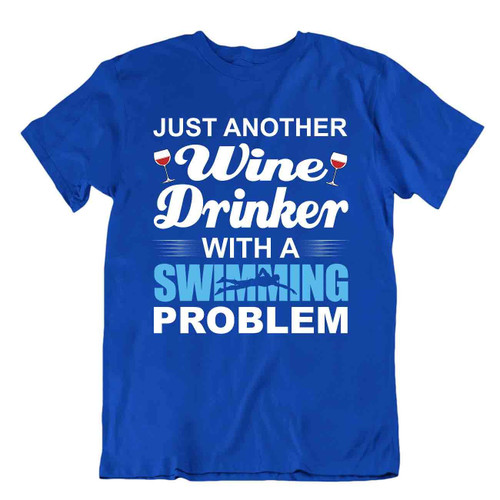 Drinker Swimming T-SHIRT Funny Theory TEE Trend SHIRT Awesome Gift