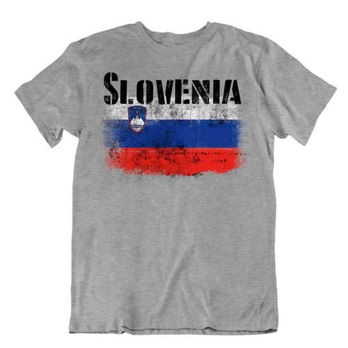 Slovenia flag Tshirt T-shirt Tee top city map Counts of Celje Basic TEXTILE