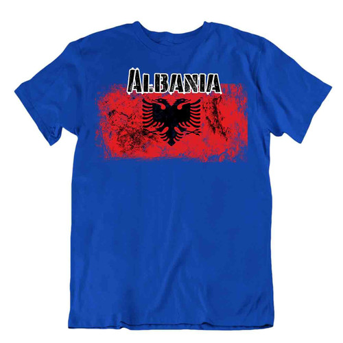 Albania flag Tshirt T-shirt Tee top city map slovenia slavia europe Country