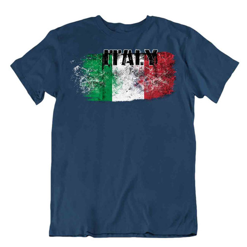 Italy flag Tshirt T-shirt Tee top city map heraldic olive five pointes star gift