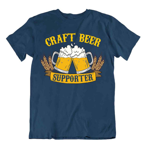 Craft Beer supportwer T-SHIRT cheers Beer Cap TEE Drinking Party Bar SHIRT