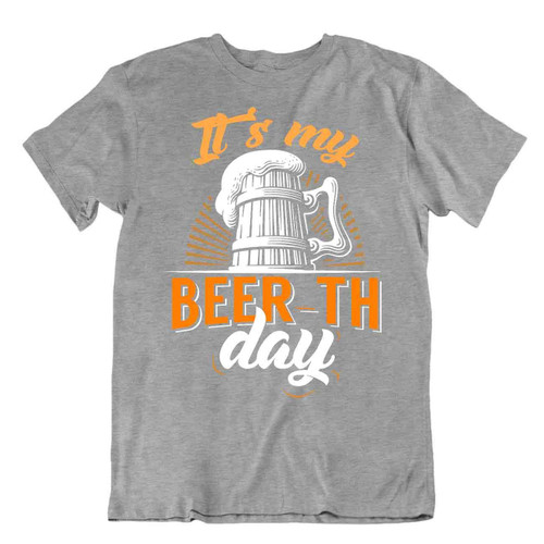 It's My Beer Th Day T SHIRT Realist Beer Glass TEE Comic Trend SHIRT Men Joke