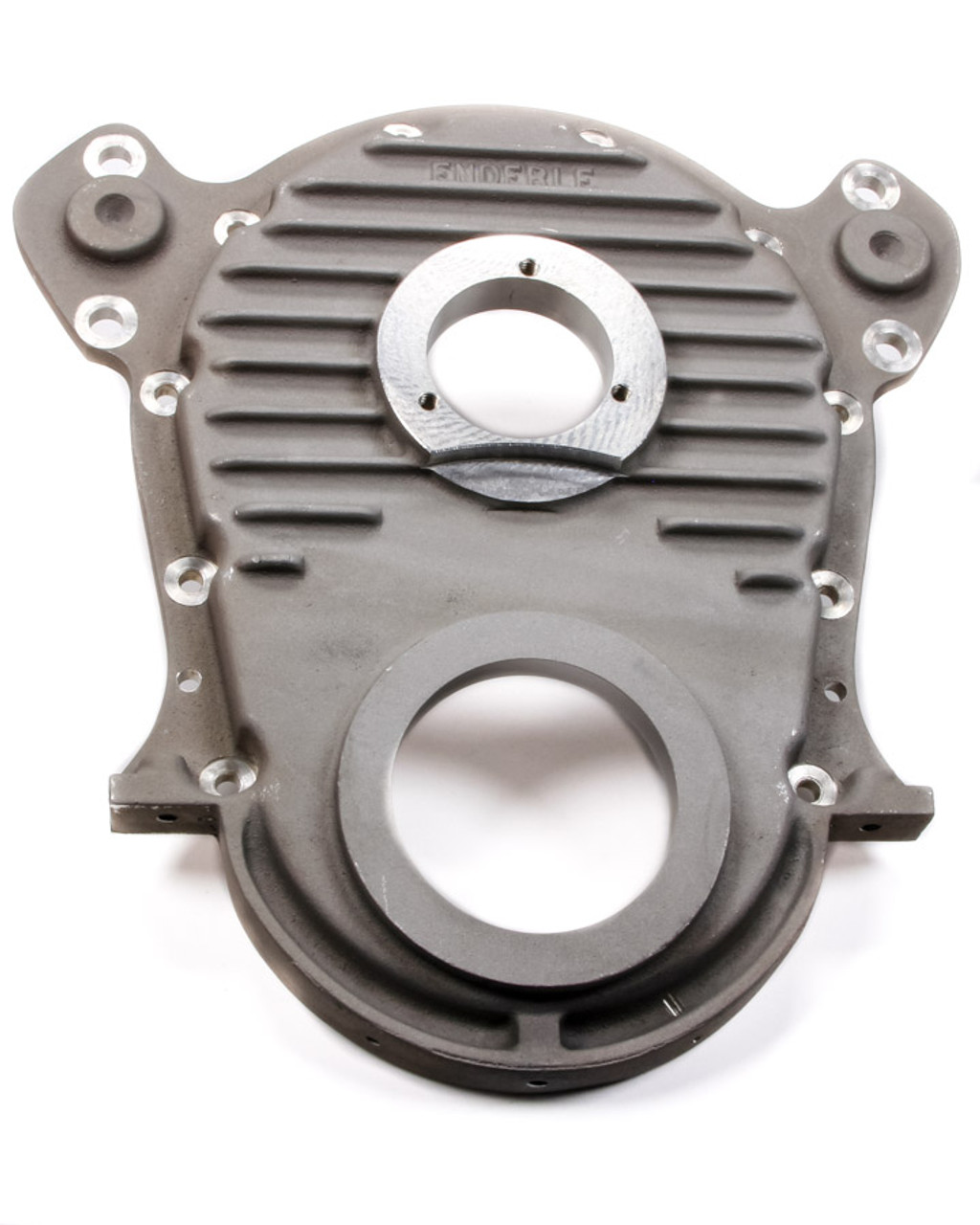 ENDERLE Natural Aluminum 1 Piece BBC Timing Cover P/N 5004