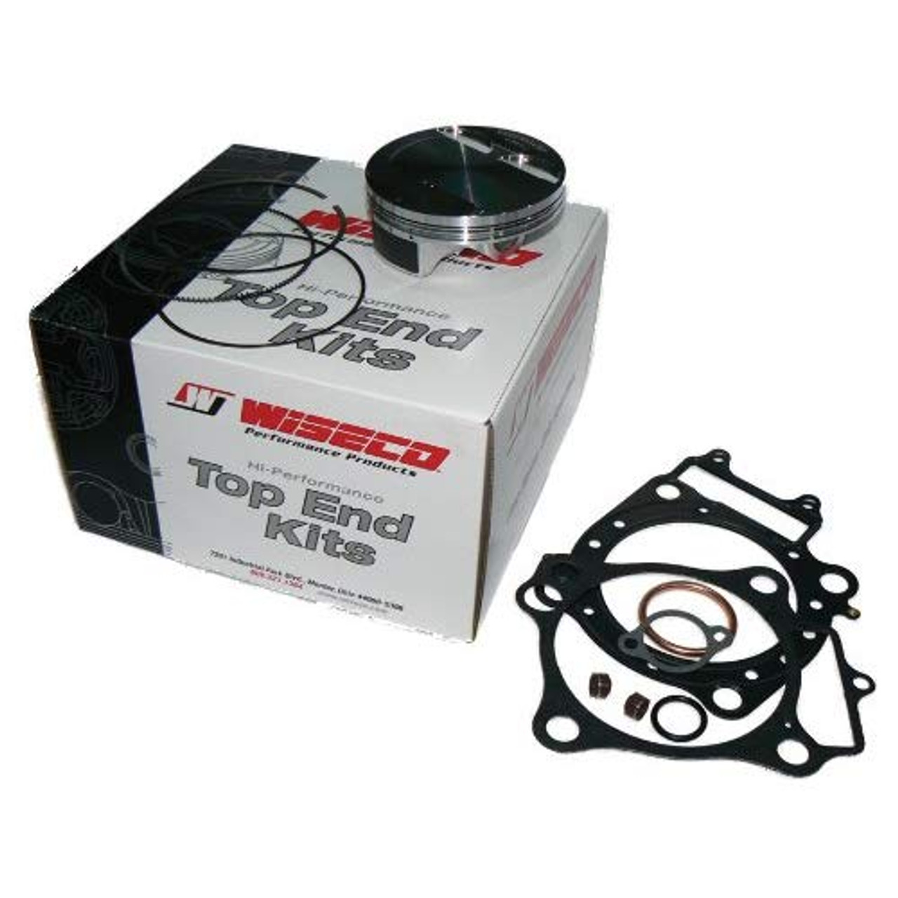 Wiseco 4890M10100 101.00mm 12.5:1 Compression Motorcycle Piston Kit