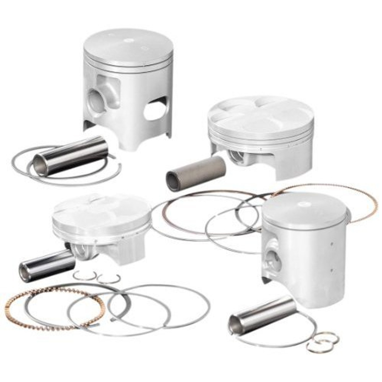 Wiseco 4666M05400 54.00mm 9.4:1 Compression 101cc Motorcycle Piston Kit