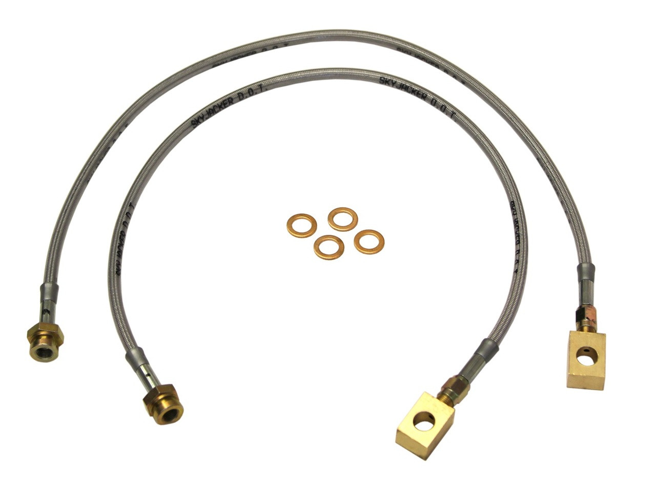 Skyjacker Suspension FBL91 FRONT BRAKE LINES 90-96