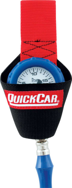 QUICKCAR RACING PRODUCTS Nylon Tire Gauge Holster P/N 56-010