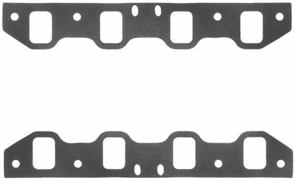 FEL-PRO Small Block Ford 0.090 in Thick Intake Manifold Gasket 2 pc P/N 1253-4