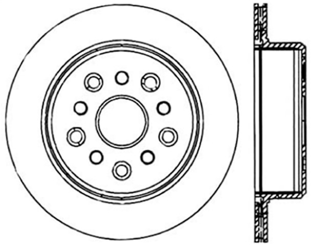 StopTech 128.44105L StopTech Sport Rotor Fits 93-98 Supra