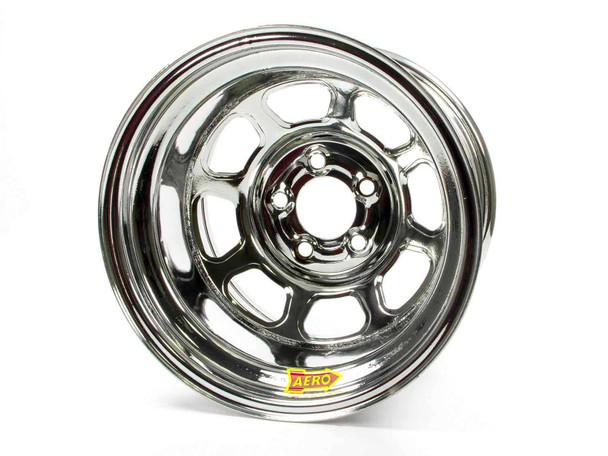 AERO RACE WHEELS 58-Series 15x10 in 5x4.75 Chrome Wheel P/N 58-204730