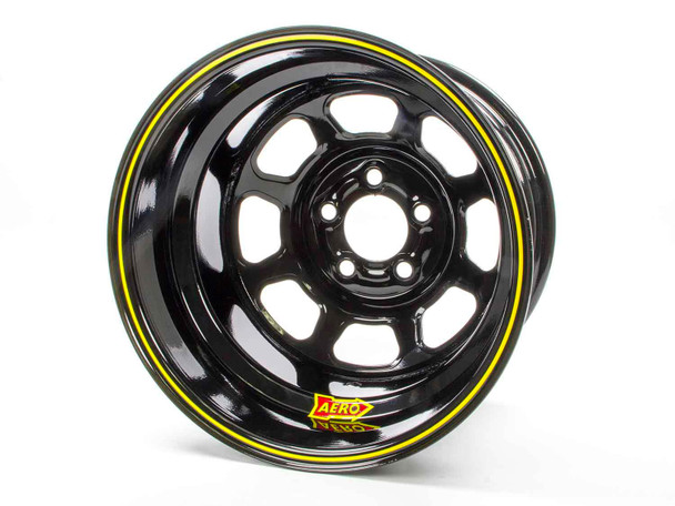 AERO RACE WHEELS 51-Series 15x10 in 5x4.75 Black Wheel P/N 51-104730